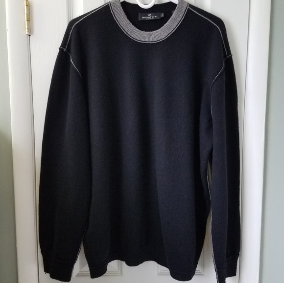 Bugatchi Other - black cashmere sweater